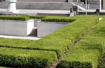Öffentliche Grünanlagen im Allgäu