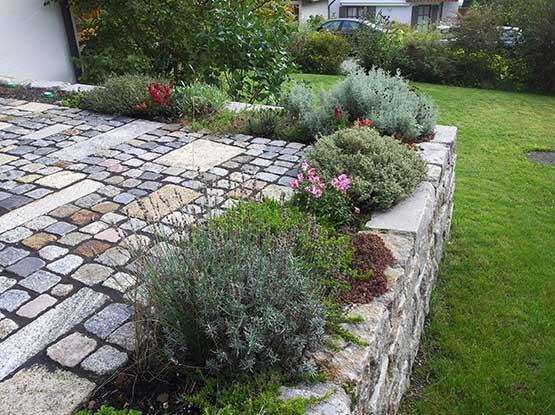 Planung und Ausführung von Terrassen und Gärten